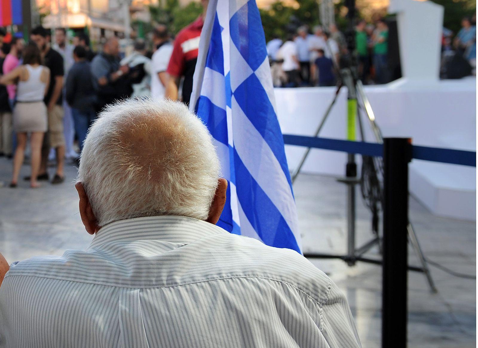 Griechenland / Rentner / Rente