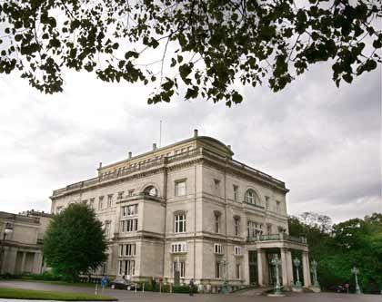 Klare Architektur, unklare Worte: Zum Yen brachte das Treffen in der Villa Hügel nichts Konstruktives