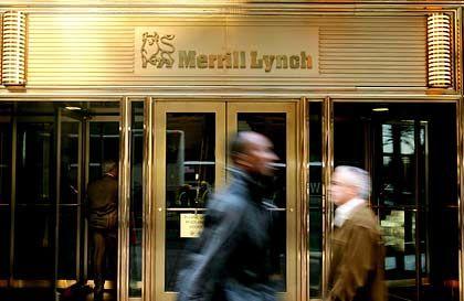 Merrill Lynch: Schon der Kollaps eines kleinen Monoliners kostete die Bank drei Milliarden Dollar