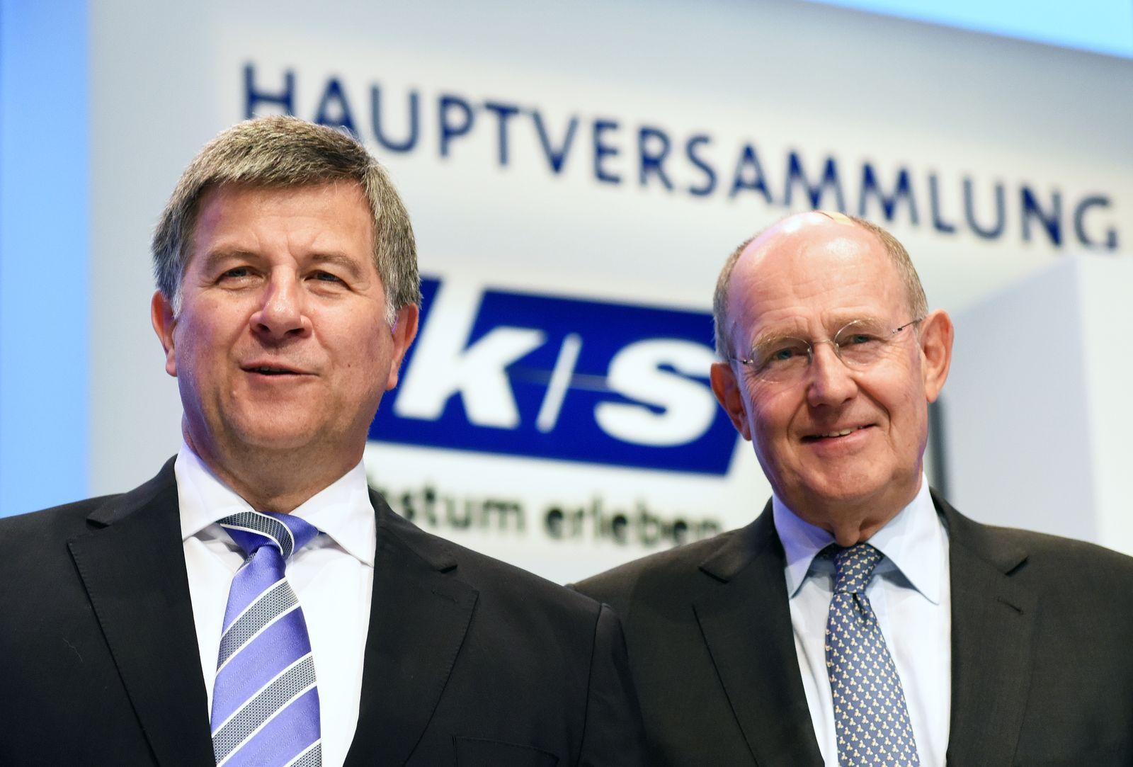 Hauptversammlung K+S / Norbert Steiner / Ralf Bethke