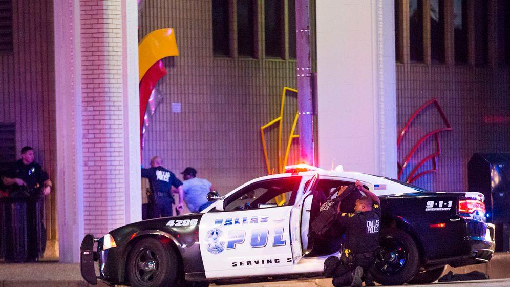 Anti-Rassismus-Demo: Tödliche Schüsse in Dallas
