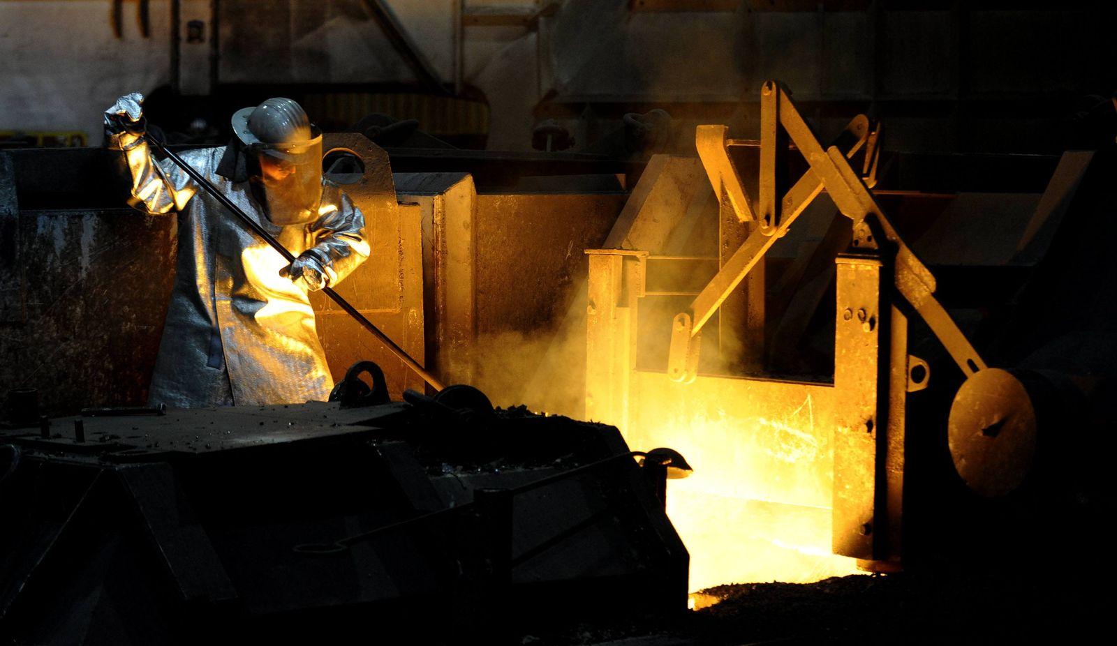 NICHT VERWENDEN Stahlwerk Salzgitter / Stahlindustrie
