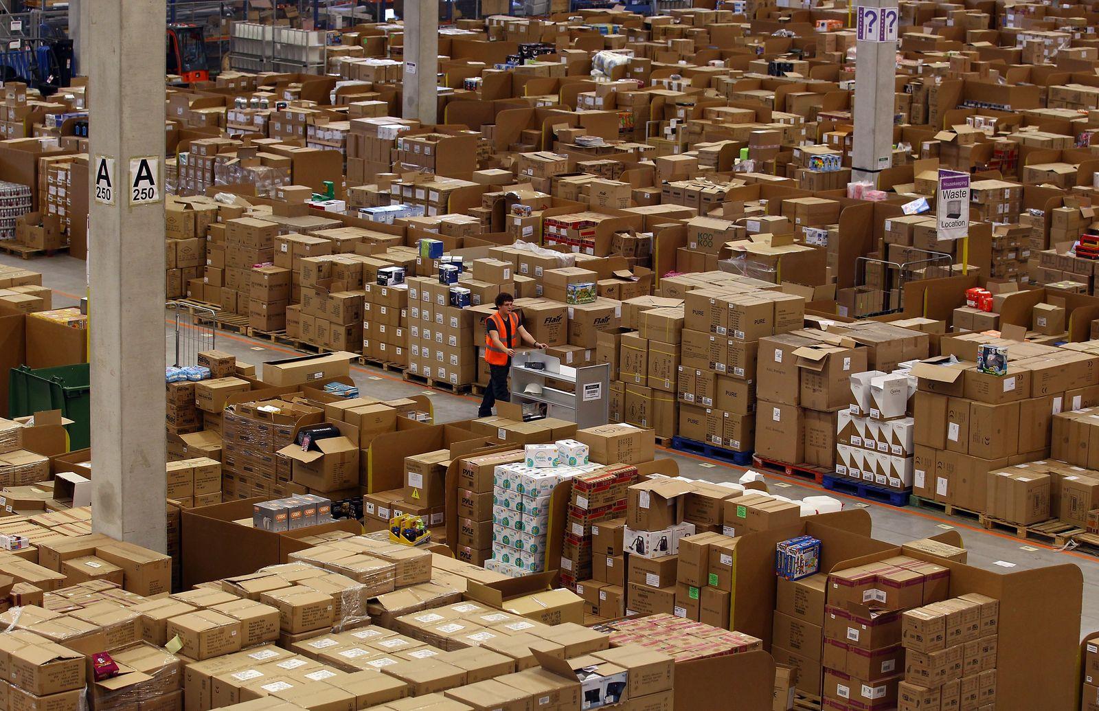 mmo-Thema: Amazon / Logistik / Pakete
