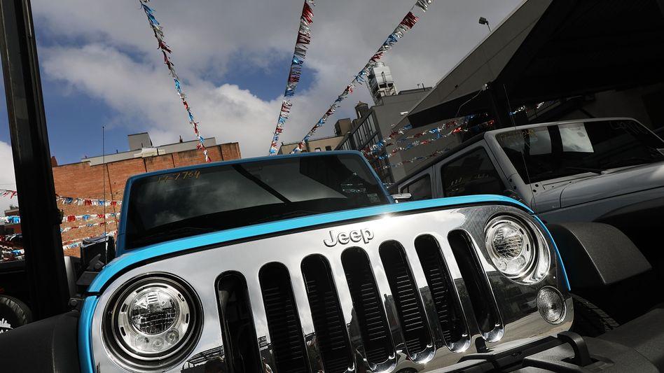 Jeep ist nur eine Marke unter dem Dach ...