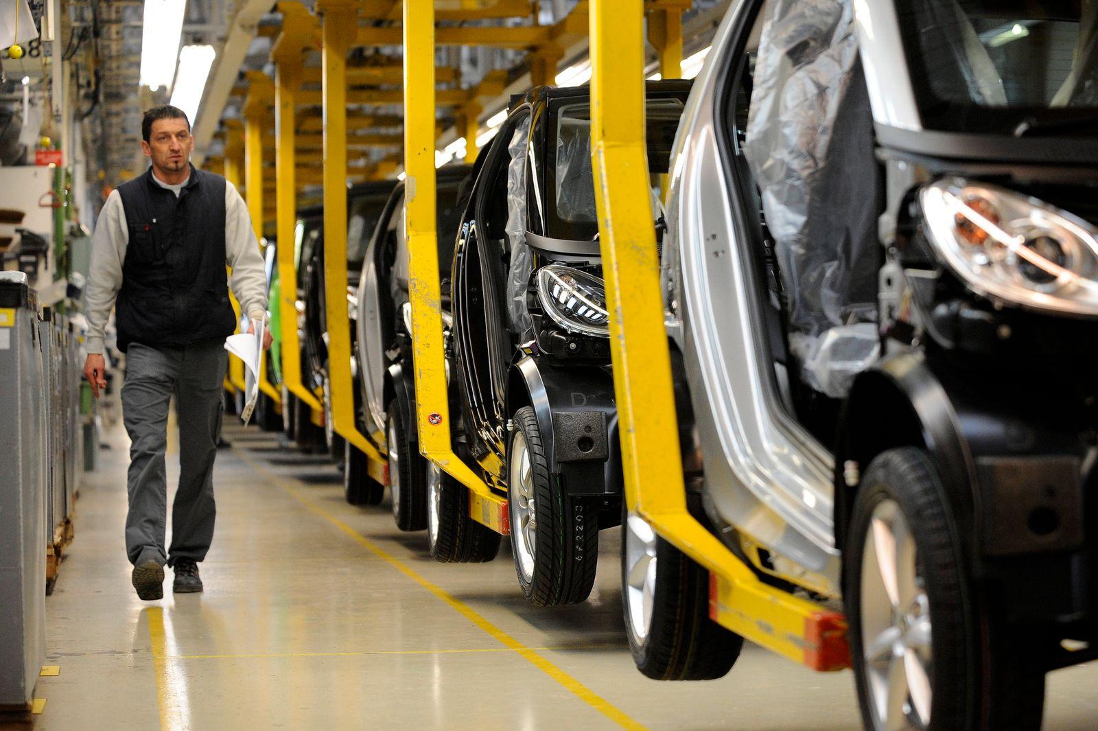 Daimler will Werk im französischen Hambach verkaufen