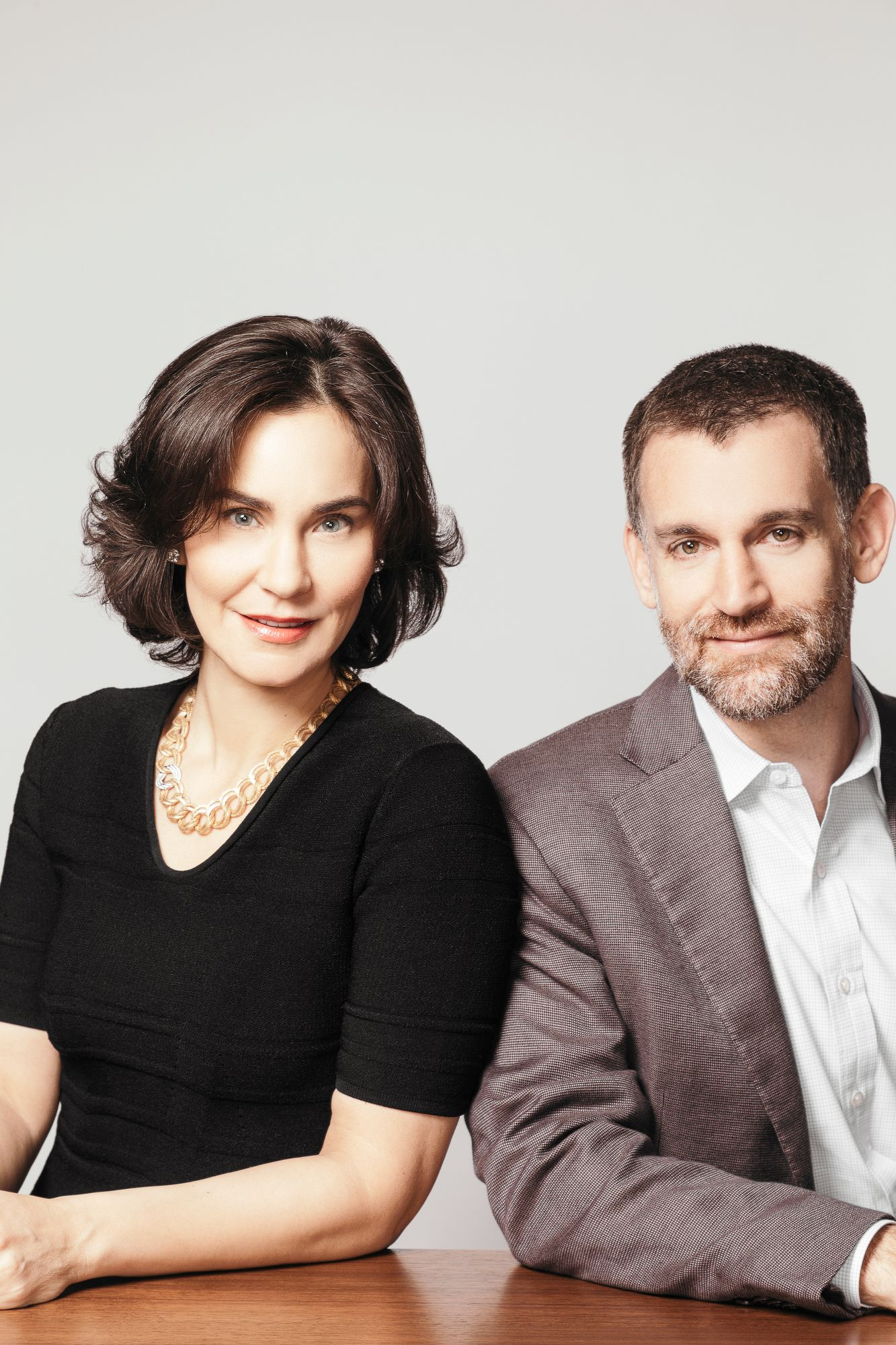 Laura and John Arnold