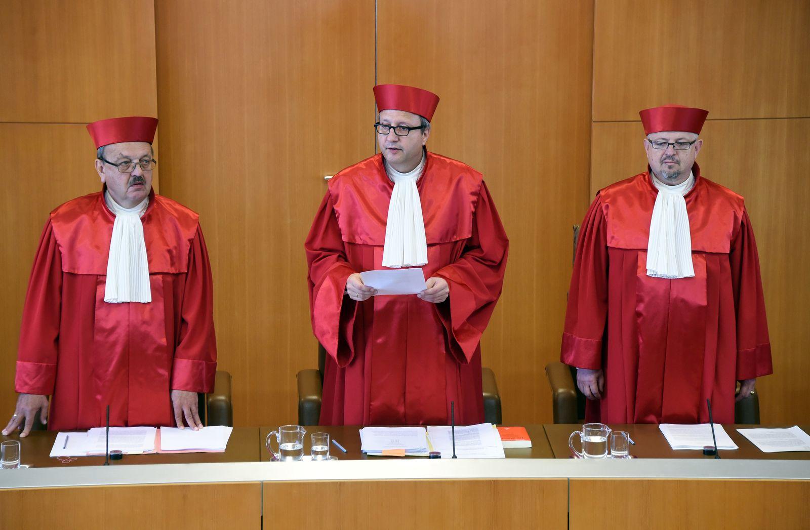Bundesverfassungsgericht Richterbesoldung