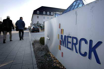 Neuer Chef, hohe Ziele:Merck-Zentrale in Darmstadt