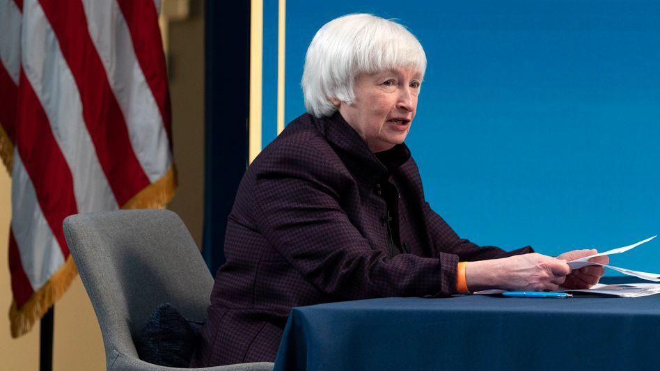 Stieß mit ihrem Vorstoß auf positive Resonanz: US-Finanzministerin Janet Yellen