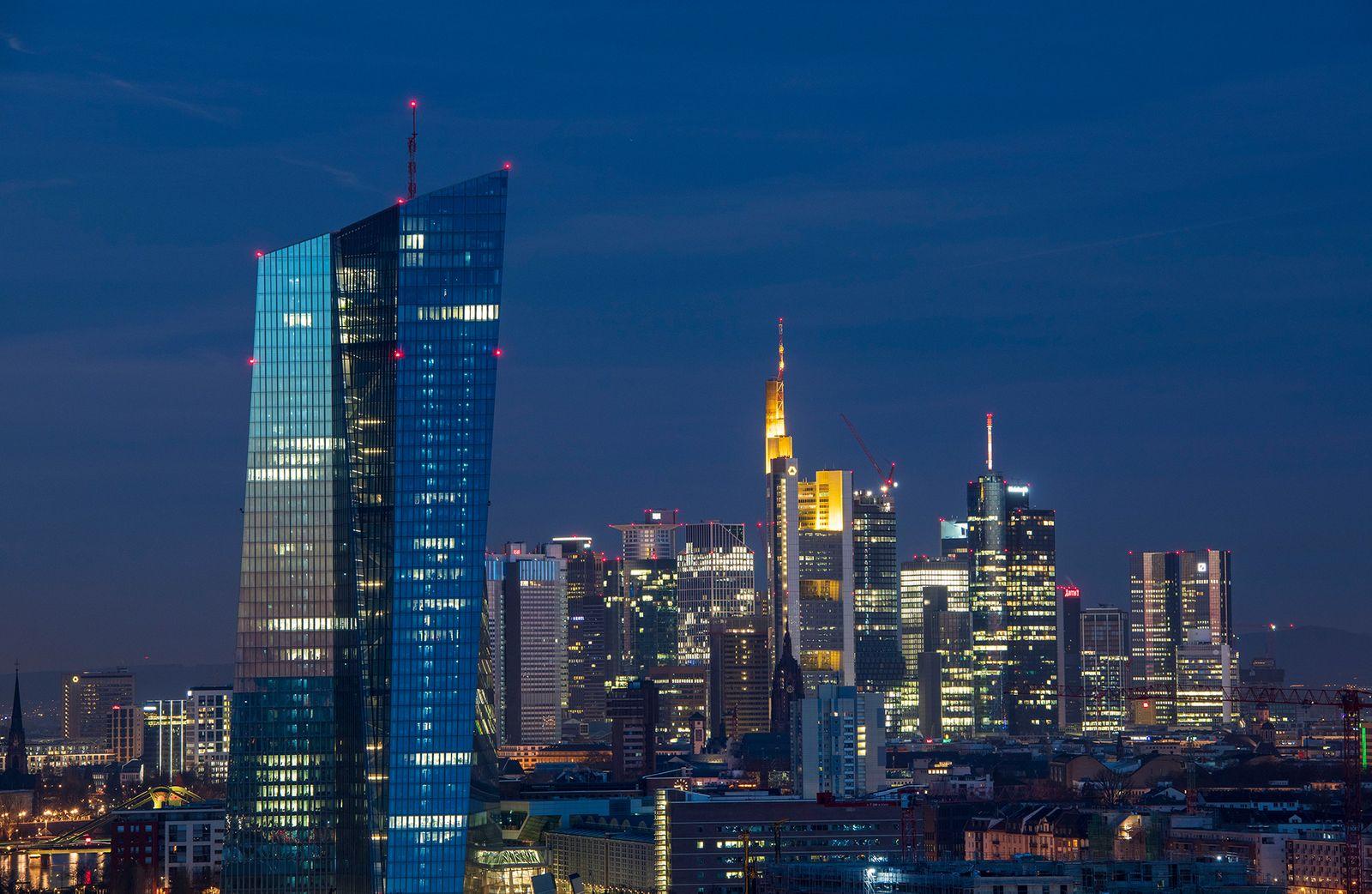 EINMALIGE VERWENDUNG EZB/ Europäische Zentralbank/ Frankfurt
