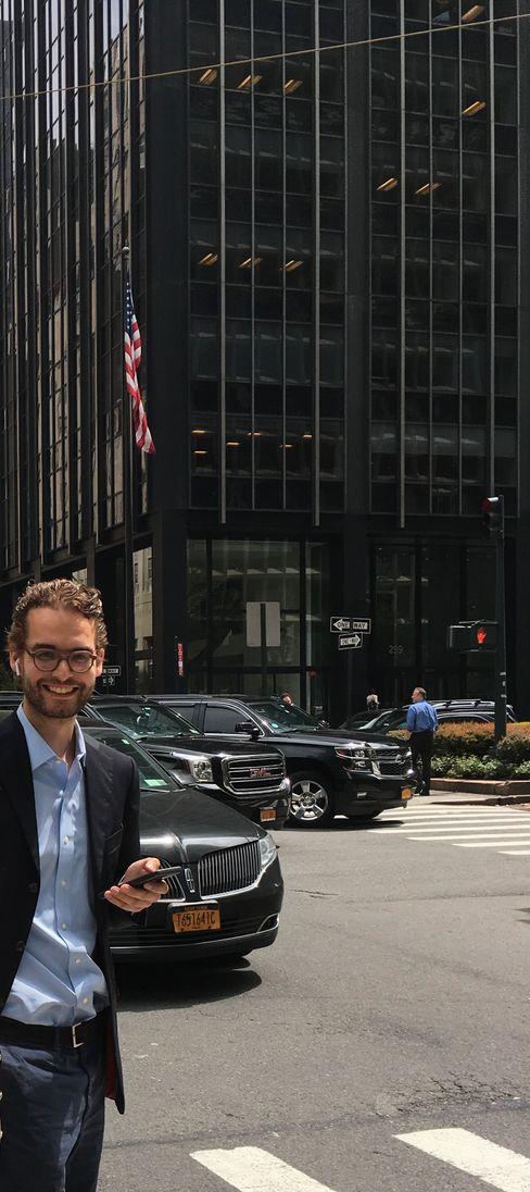 """Claudius Senst in New York: """"Die Polarisierung hat deutlich zugenommen"""""""
