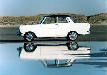 Beginn einer Erfolgsgeschichte: Der 1962 neue Opel Kadett