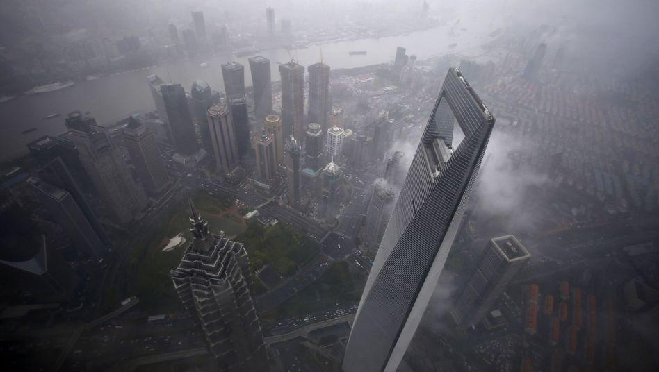 Shanghais Finanzdistrikt Pudong: Schockwellen für die Weltwirtschaft
