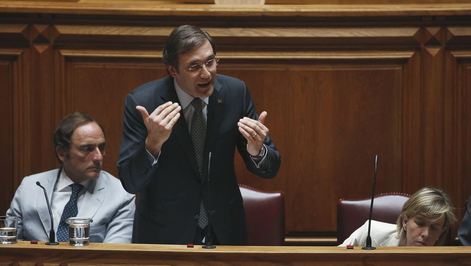 Unter Druck: Portugals Ministerpräsident Pedro Passos Coelho