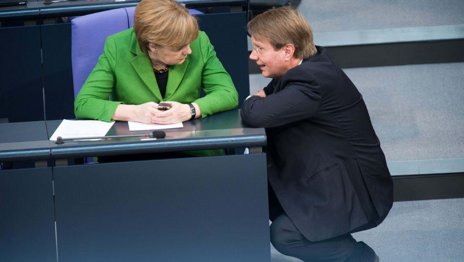 Merkel hat Pofalla einiges zu verdanken: Jetzt hört ihr Kanzleramtsminister auf, will offenbar eine Familie gründen und in die Wirtschaft wechseln