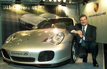 Dauersieger: Porsche-Chef Wiedeking verteidigt seinen Spitzenplatz