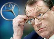 Die Welt AG ist weit entfernt: Konzernlenker Jürgen Schrempp vertröstet die Aktionäre auf das Jahr 2005