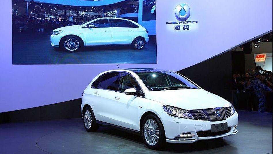 Daimlers China-Stromer Denza: Peking erhöht bei der Elektromobilität die Schlagzahl