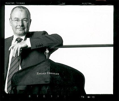 Schneider-Meister: Heinz Dressler führt das Herrenmode-Unternehmen, das sein Vater 1929 gegründet hat, in Großostheim bei Aschaffenburg fort.