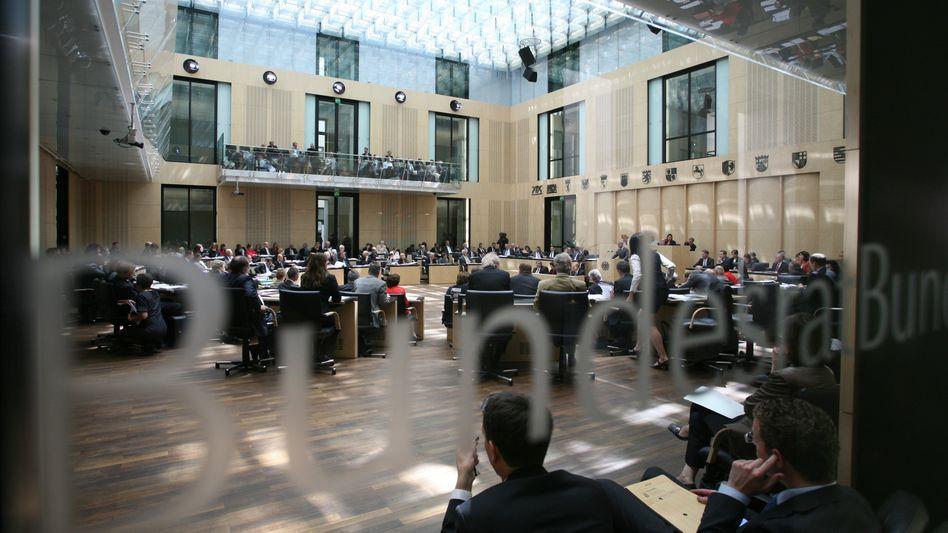 Plenarsaal des Bundesrats: Länderkammer stoppt Steuergesetze