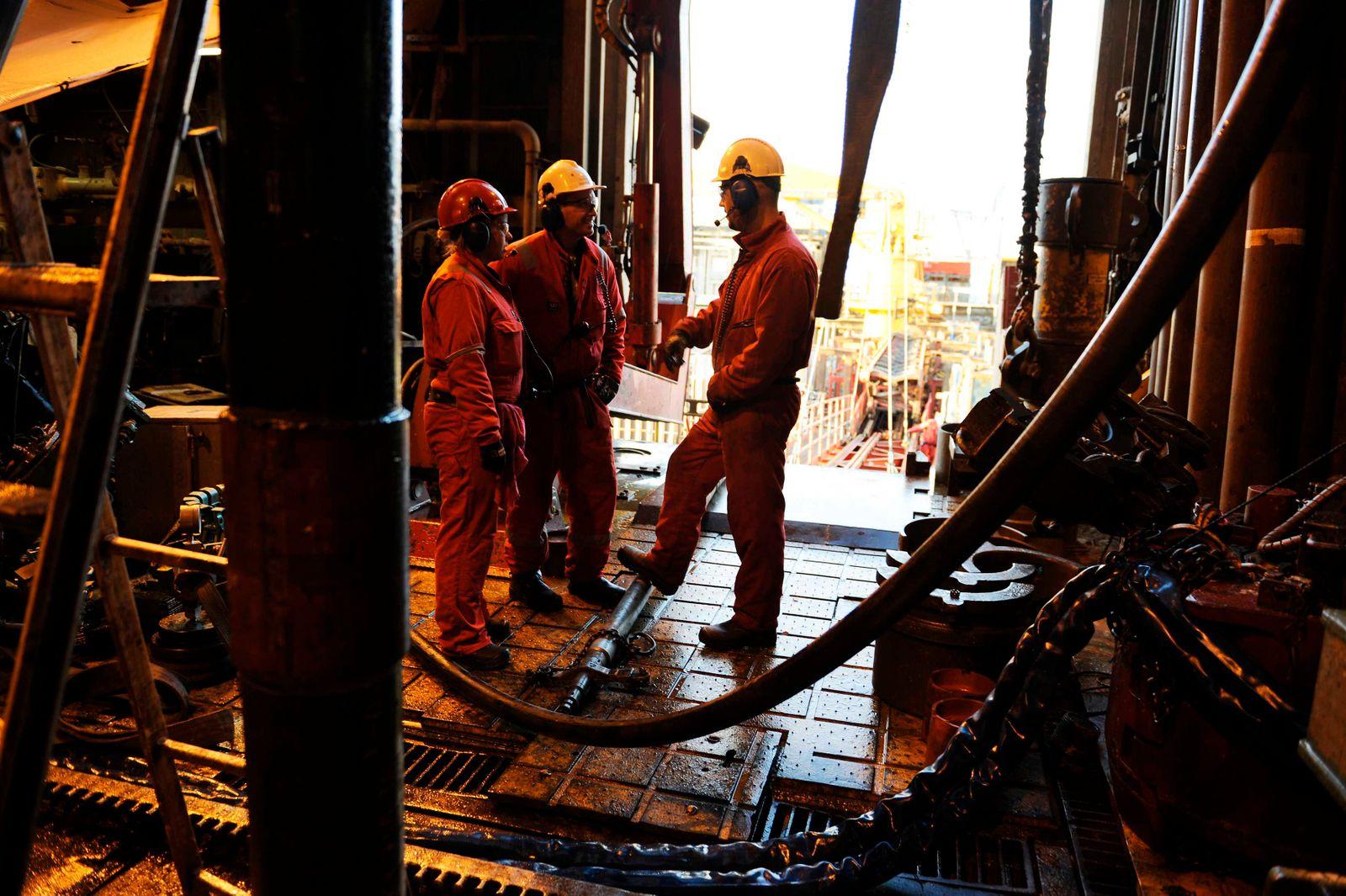 Norwegen / Öl / Ölproduktion / Arbeiter
