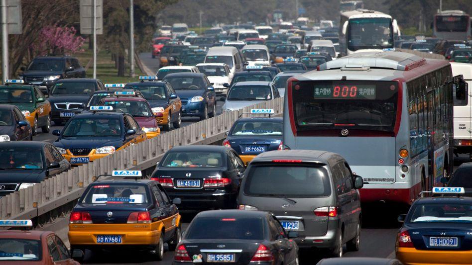 Autoverkehr in China: Daimler will mehr Modelle nach dem Geschmack der Asiaten bauen