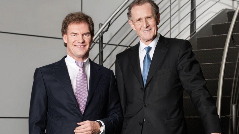 Rentenkonzepte für die Welt: Carsten Maschmeyer und Bert Rürup