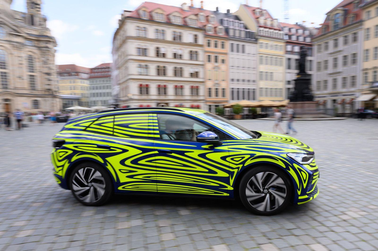 ID.4 ergänzt ID.3: VW baut jetzt in Zwickau zweites E-Modell