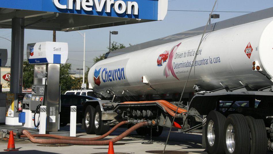 Schrumpfende Erlöse: Wie andere Big-Oil-Konzerne auch hat Chevron zu kämpfen