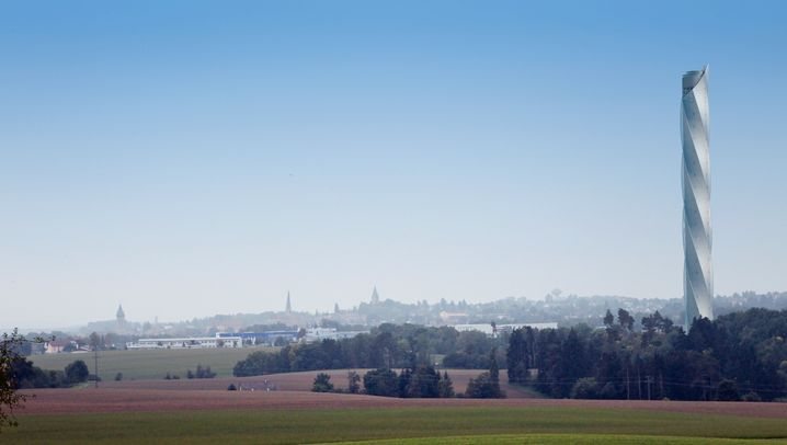 Im Hyperloop hoch und quer durch Wolkenkratzer: So will Thyssen den Hochhaus-Bau revolutionieren
