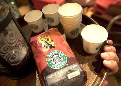 Prosperierendes Kaffeehaus: Starbucks