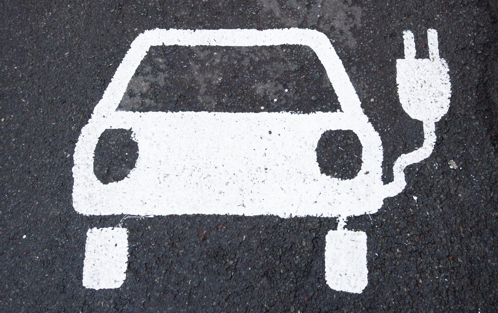 Symbol Elektroauto