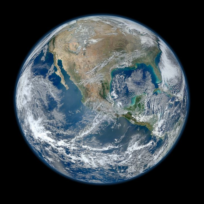 Blick auf die Erde: Die Finanzierung von Galileo und Copernicus wird nun schwieriger