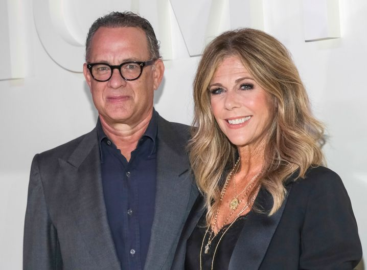 Tom Hanks und seine Frau Rita Wilson