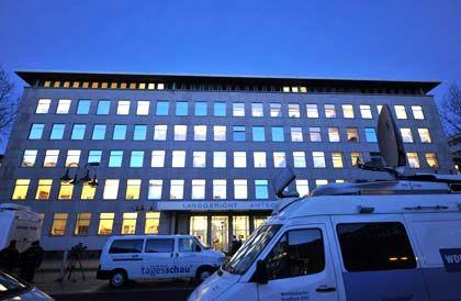 Im Blickpunkt: Das Bochumer Landgericht am Donnerstag Morgen