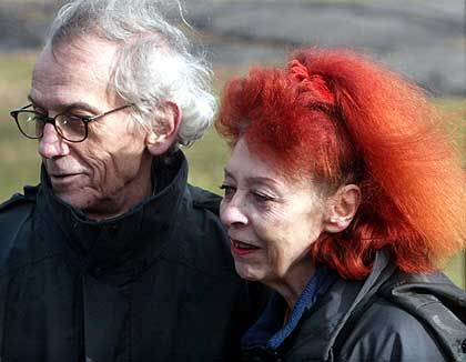 """Christo und Jeanne-Claude: """"Nicht bleibend sein und für immer verschwinden"""""""