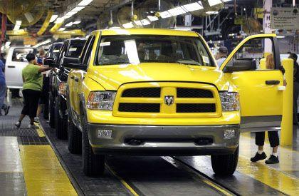 Fahrt in die Insolvenz wahrscheinlich: Für den Autokonzern Chrysler besteht offenbar nur wenig Hoffnung, seine Zukunft außerhalb eines Insolvenzverfahrens zu gestalten