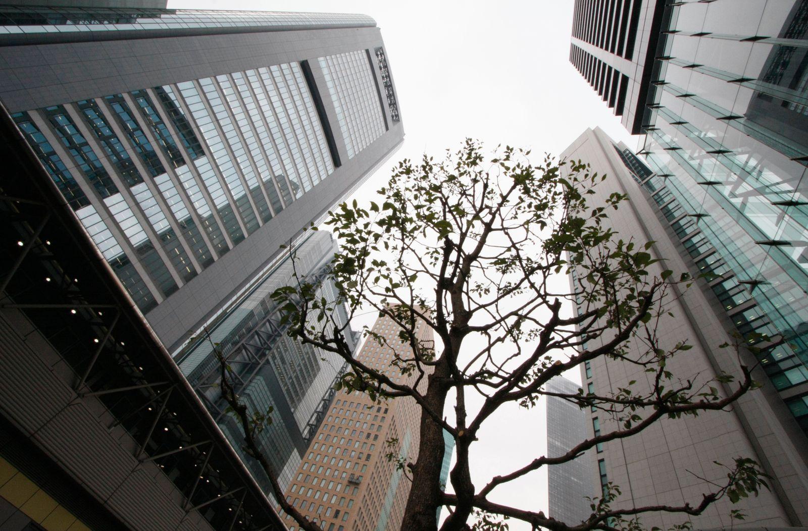 Mitsubishi Estate / Sumitomo Realty / Mitsui Fudosan / Immobilienaktien