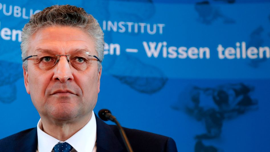 """RKI-Präsident Lothar Wieler: """"Die Entwicklung der nächsten Tage muss sehr aufmerksam beobachtet werden"""""""