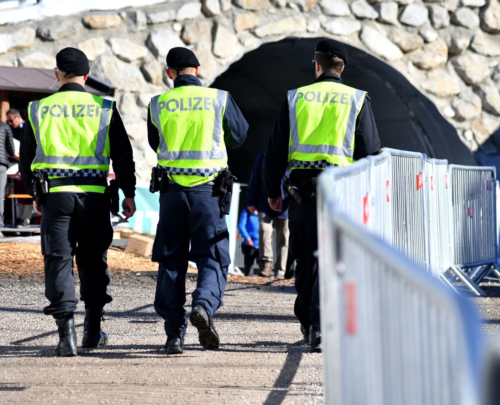 Nordische Ski-WM/ Seefeld/ Polizei
