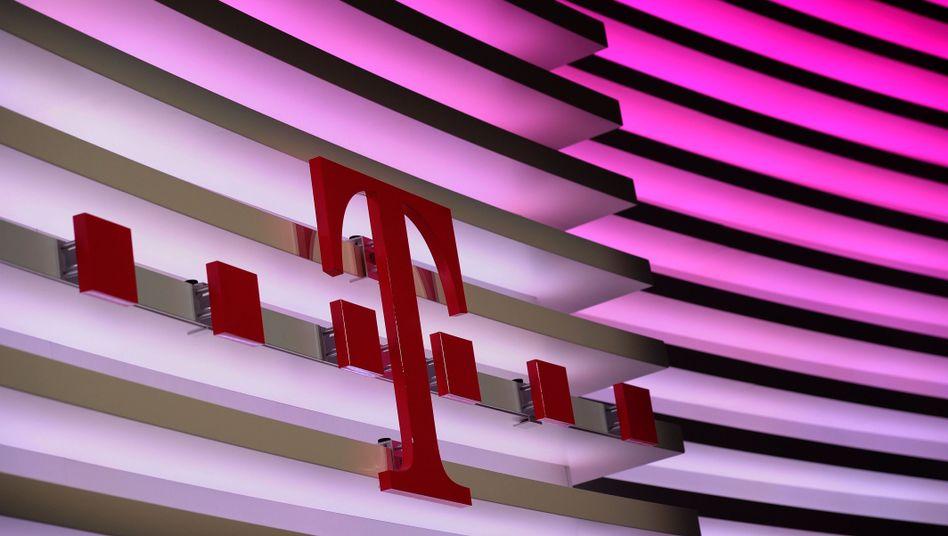 Logo der Deutschen Telekom: Gewinn um 15 Prozent gesteigert
