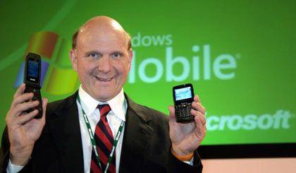 """""""Die Telekom ist der richtige Partner"""" Microsoft-Chef Ballmer"""
