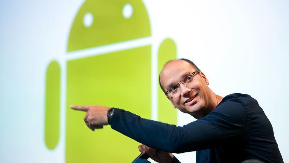 Googles Roboter-Chef Rubin: Vater des Android-Smartphones
