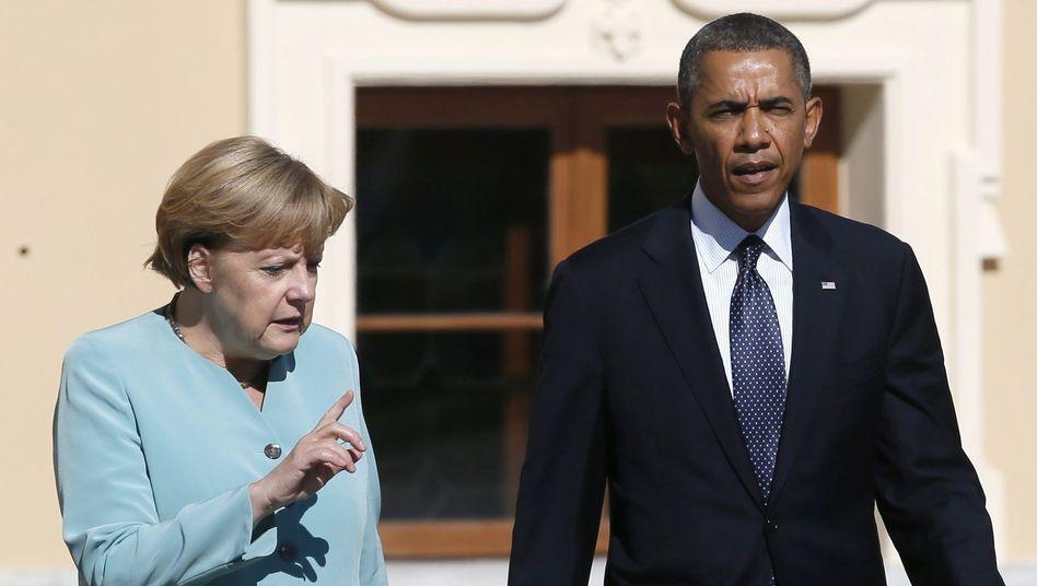 Sinneswandel: Bundeskanzlerin Angela Merkel und US-Präsident Barack Obama auf dem G20-Gipfel
