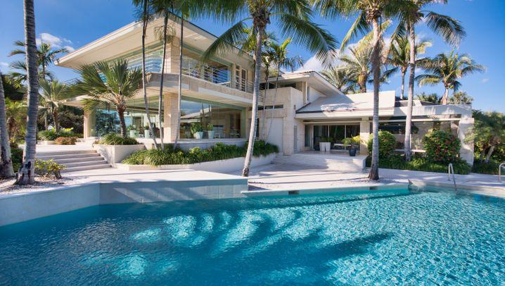 Playmobil-Haus mit Golf-Platz: Bilder von Brandstätters Traumvilla in Florida