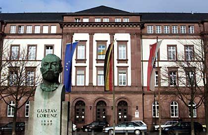 Muss zu einem Urteil kommen: Landgericht Darmstadt