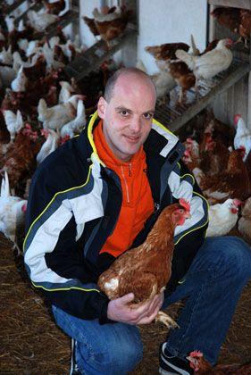 Setzte sich mit seiner Klage durch: Hühnerhalter Georg Heitlinger