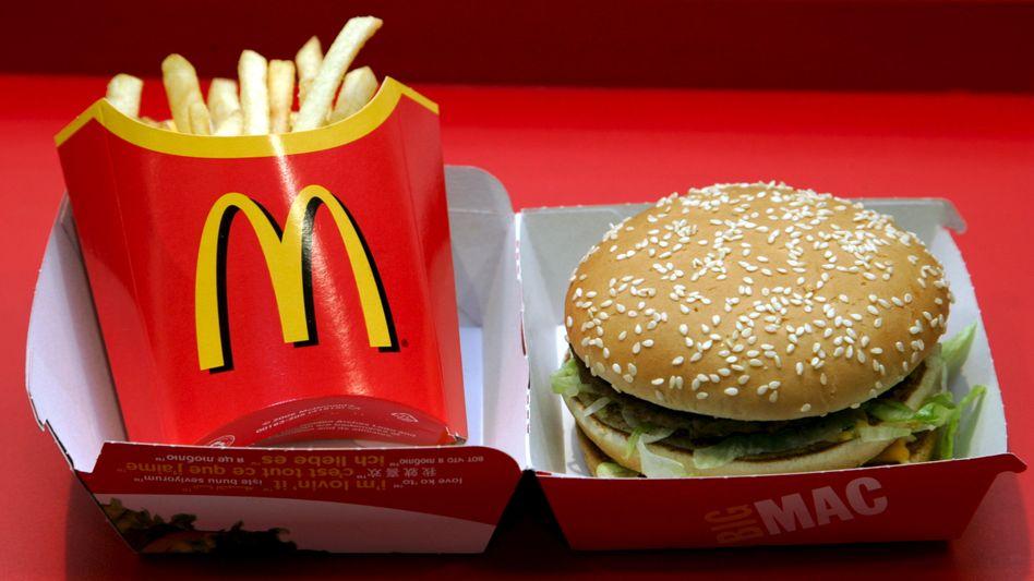Schwere Kost: McDonald's muss womöglich einiges an Steuern nachzahlen