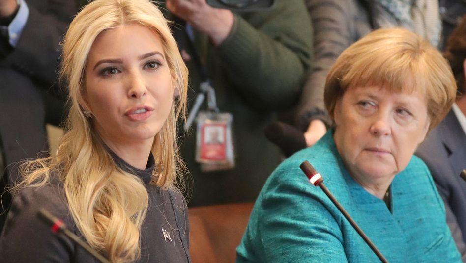 Welche Rolle wird sie künftig im Weißen Haus spielen? Ivanka Trump sitzt bei wichtigen Terminen ihres Vaters Donald Trump schon mal mit am Tisch