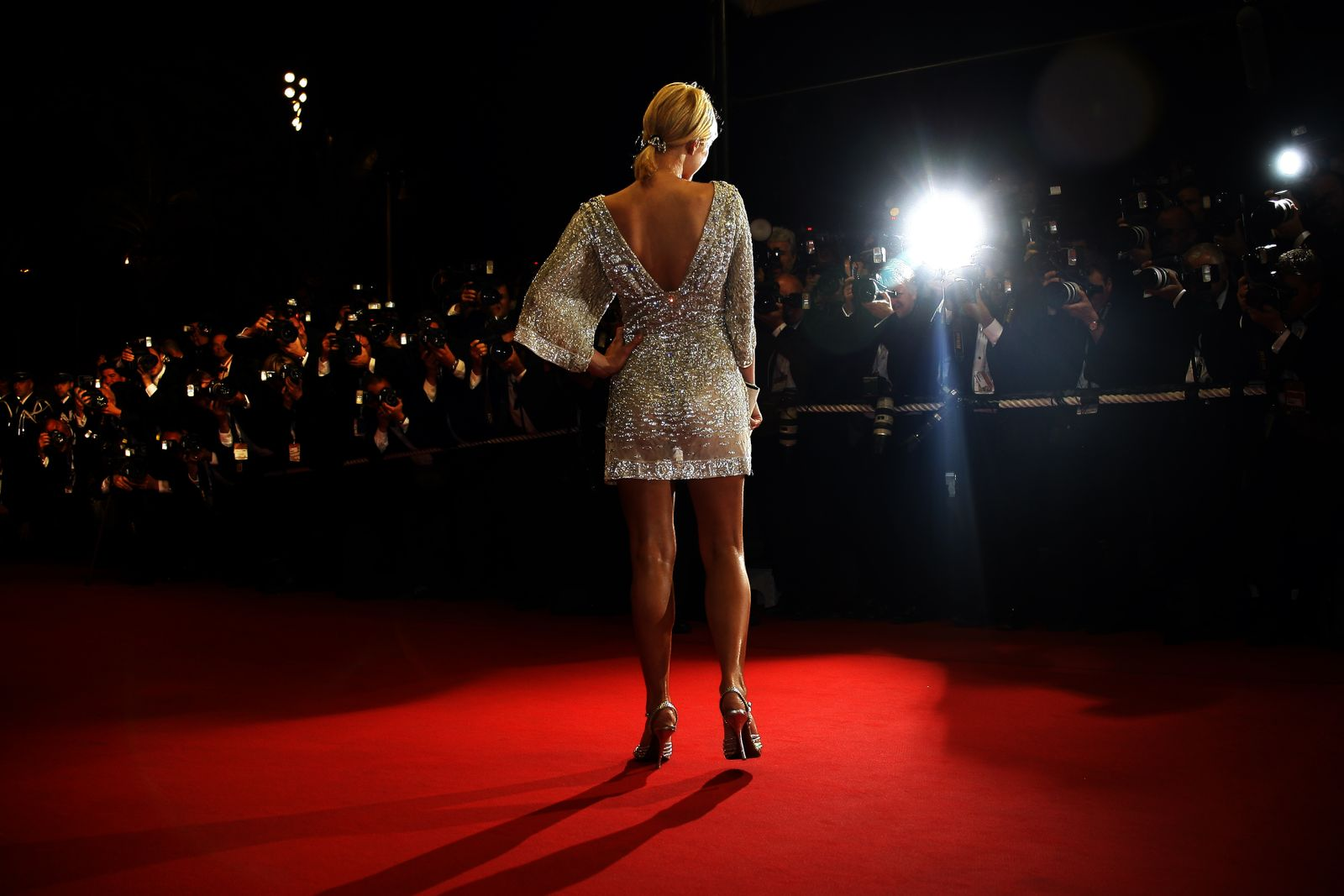 Socialite Paris Hilton arrives for screening of 'X-Men: The Last Stand' at 59th Cannes Film Festival